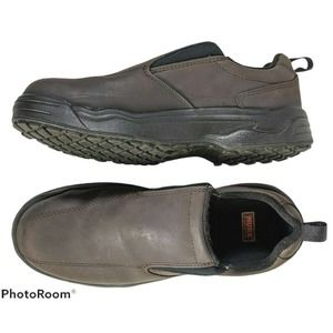 Red Wing Worx Safety Toe Slip On Shoes Size 9WW